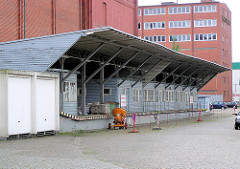 Altes Zollabfertigungsgebäude am Ericusgraben in der Hamburger Hafencity.