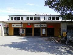 Alter Eingang vom Hamburger ZOB kurz vor dem Abriss.