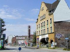 Ehem. historisches Wohnhaus an der Simon von Utrecht Strasse in Hamburg Sankt Pauli.