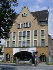 Ehem. historisches Wohnhaus in der Simon von Utrecht Strasse von Hamburg St. Pauli - abgerissen.