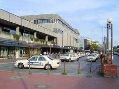 Ansicht vom Altonaer Bahnhof im Hamburg Altona (2001).