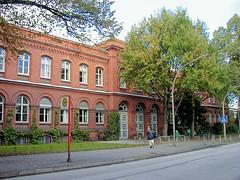 Aufnahmen vom Universitätskrankenhaus Hamburg Eppendorf, UKE - 2003.