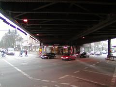 Sternbrücke über die Stresemannstraße + Max-Brauer-Allee in Hamburg  (2002).