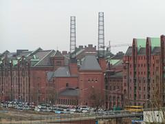 Kesselhaus in der Hamburger Hafencity, Speicherstadt (2003).