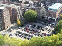 Der Domplatz und das Pressehaus in der Hamburger Altstadt. (2003)