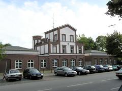 Alte Feuerwache in der Glacischaussee in Hamburg St. Pauli .