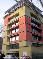Fotos von der ehem. Frauenklinik Altona Kinderkrankenhaus in Hamburg Ottensen; ehem. Operationsbunkter - jetzt Nutzung als Büros (2004)