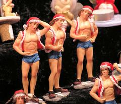 Weihnachtsschmuck auf den Hamburger Weihnachtsmärkten in der Innenstadt (2004).