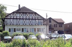 Historische Gewerbearchitektur an der Harkortstraße in Hamburg Altona Nord (2005)