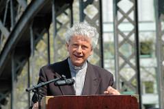 Rede vom Hauptpastor der Hamburger St. Michaeliskirche anlässlich der Einweihung der Skulpturen an der Brooksbrücke.