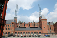 Kesselhaus in der Hamburger Hafencity, Speicherstadt (2006).