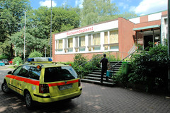 Blutspende im Blutspendedienst in Hamburg Eilbek.