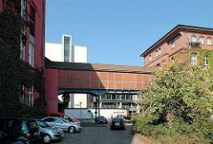 Gebäude vom Alten Hafenamt / Strom und Hafenbau, Vorgänger der HPA - Hamburg Port Authority ( 2006 ).