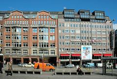 Bilder vom ehem. UFA-Kino am Hambuger Gänsemarkt - Abriss 2006.