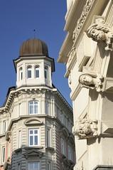 Bilder aus der Hamburger Innenstadt - Stadtteil Neustadt. Architektur der Gründerzeit in den Hamburger Colonnaden.