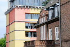 Fotos von der ehem. Frauenklinik Altona Kinderkrankenhaus in Hamburg Ottensen.