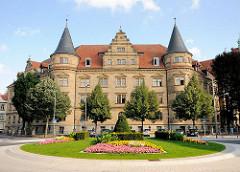 Zentraljustizgebäude Bamberg - Sitz der Generalstaatsanwaltschaft, des Landgerichts und des Oberlandesgerichts.