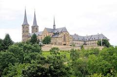 Kloster Michelsberg /  Michaelsberg Bamberg; ehemaliges Kloster der Benediktiner