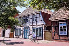 Architektur in Bremervörde an der Oste - Fachwerkhäuser.