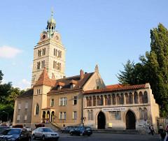 Kirche St. Emmeram in Regensburg, größte vorromanischer Kirchenbau Süddeutschlands - Gründungsbau um 780.