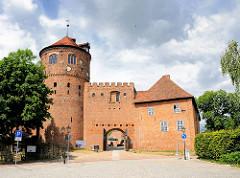 Eingang zur Alten Burg in Neustadt Glewe - erste urkundliche Erwähnung 1331.