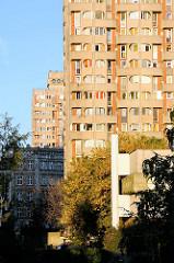 Bilder der Siedlung Grunwaldplatz / plac Grunwaldzi; erbaut von 1967 - 1975 - Architekten Jadwiga Grabowska-Hawrylak,  Zdzisław Kowalski, Włodzimierz Wasilewski.