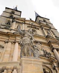 Klosterkirche St. Michael - ehem. Kloster Michaelsberg in Bamberg.