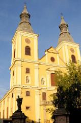 Pfarrkirche St. Bernhard - Baubeginn um 1699 als Zisterzienserkirche des Jesuitenordens.