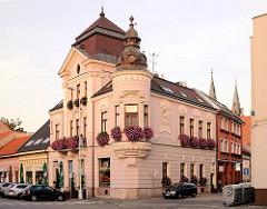 Villa - barockes Wohngebäude in in Komarno / Slowakei an der Donau.