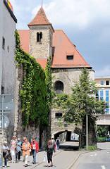 Ausschnitt Fanziskanerkloster Regensburg - Minoritenkirche.