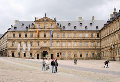 Neue Residenz  Bamberg, mehrflügeliges Gebäude erbaut von 1602 - 1703; ehem. Sitz der Bamberger Fürstbischöfe.