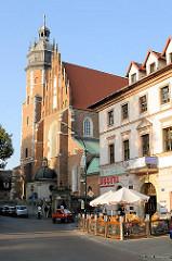 Corpus Christi Kirche in Krakau / Kraków; gotische Kirche errichtet ab 1340.