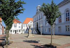 Ehemaliger Sitz der Holsteinischen Ständeversammlung in Itzehoe.