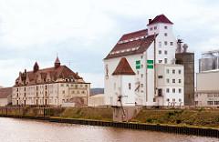 Industriearchitektur am  Hafen Bamberg - Lagerhausstrasse.