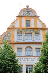 Stadtarchiv Bamberg - errichtet 1901 im Neobarock vom Stadtbaumeister / Architekt Hans Jakob Erlwein als Chirugisches Krankenhaus.