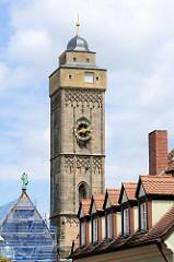 """Kirche Obere Pfarre Bamberg - gotische Pfarrkirche """"Unsere Liebe Frau"""" - fertig gestellt um 1450."""