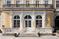 Historische Hausfassade - Maximilianpark, jetzt als Hotel genutzt.