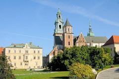 Kathedrale St. Stanislaus und Wenzel in Krakau / Kraków - Polen.