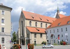 Minoritenkirche in Regensburg - Franziskanerkloster St. Salvator; Auflösung des Klosters 1799.
