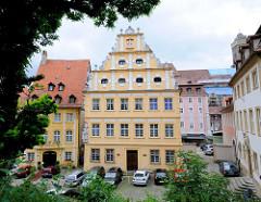 Barocke Wohngebäude in Bamberg - Bilder historischer Architektur.