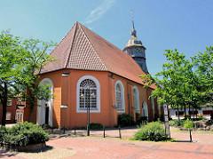 St. Liborius Kirche in Bremervörde - die älteste Kirche der Stadt - erbaut 1651; Umbau 1851.