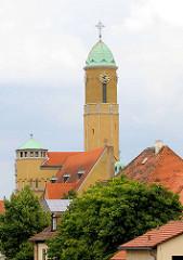 St. Ottokirche in Bamberg - erbaut 1912-14 - Architekt Otho Orlando Kurz.