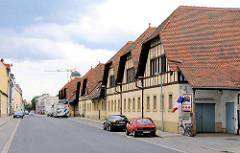 Lagergebäude / historische Industriearchitektur am Schlachthof in Bamberg.