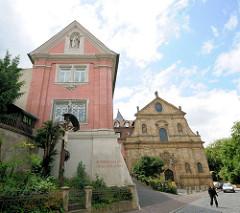 Karmelitenkirche St. Maria et St. Theodor in Bamberg.