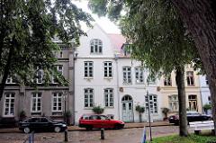 Historische Hausfassaden - Friedrichstadt an der Eider / Treene.