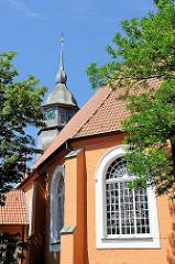St. Liborius Kirche in Bremervörde - die älteste Kirche der Stadt - erbaut 1651; Umbau 1851