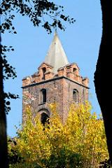 Historisches Wroclaw, Breslau - Turm des Museum Architektury / Architektur Museum.