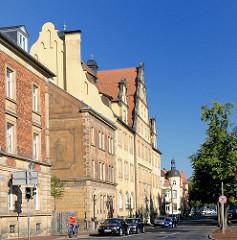 Mehrstöckige Gebäude - Architektur in Bamberg.