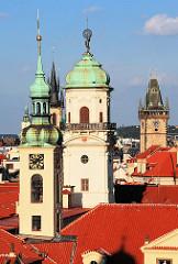 Kirchtürme / Türme der Stradt Prag - Architekurbilder.