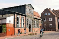 Seminarturnhalle Stade, erbaut 1863 - restauriert ehem. Turnhalle jetzt Kulturspielstätte / Veranstaltungsgebäude.
